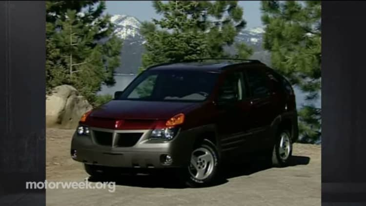 Motorweek looks back at the Pontiac Aztek