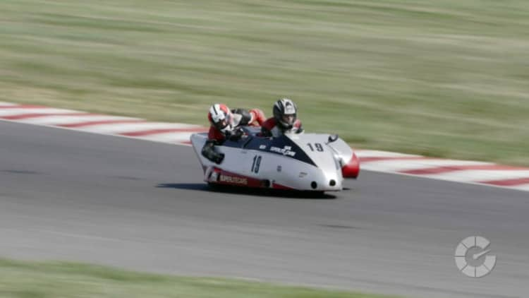 Hanging off a racing sidecar is as crazy as it looks | Translogic 204
