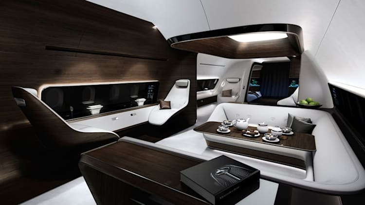 Mercedes partners with Lufthansa to design executive jet cabins [w/poll]