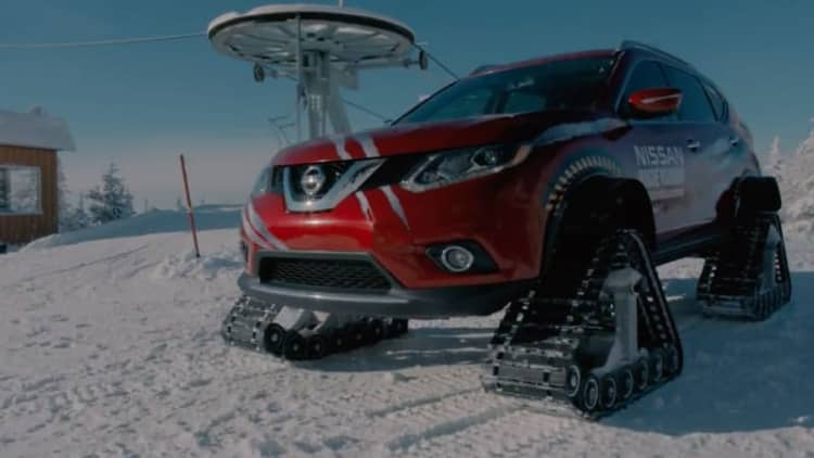 Nissan shows off the Rogue Warrior, and it's awesome