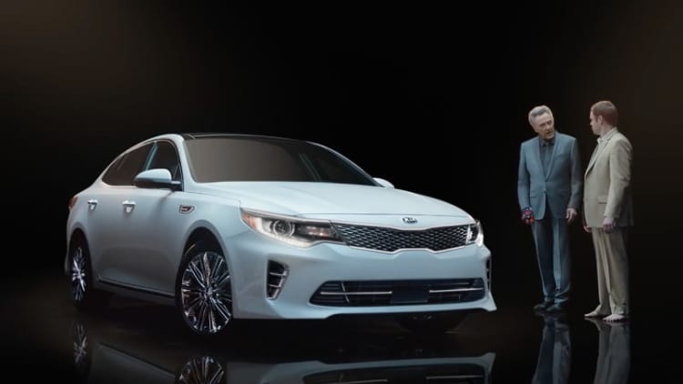 Kia's Super Bowl ad parks the Optima in a Walken closet