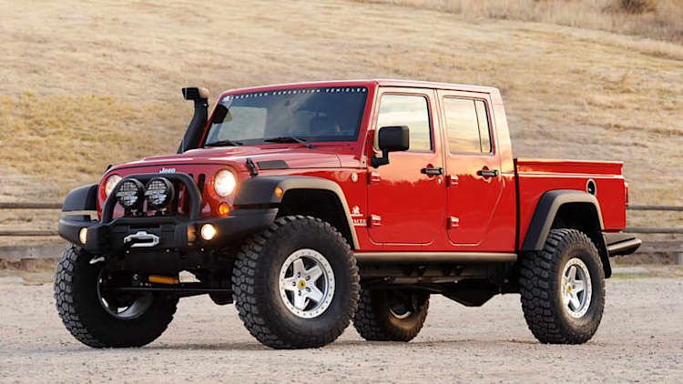 Stop waiting for the official Wrangler pickup and buy one of the last AEV Brutes