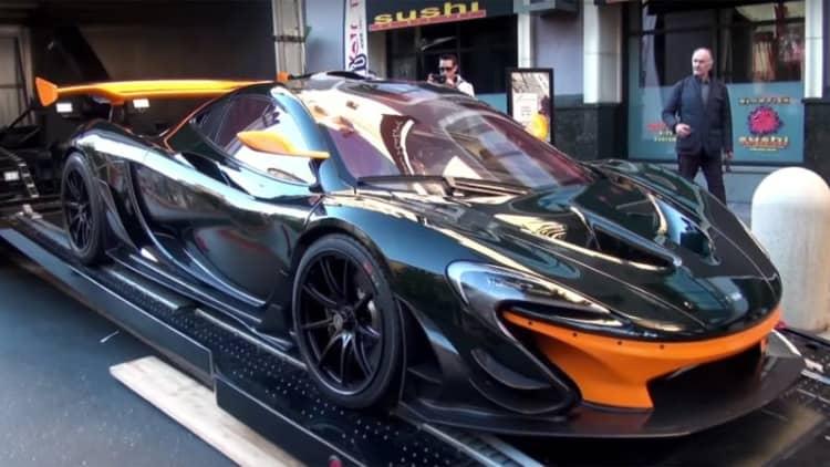 America gets its first McLaren P1 GTR