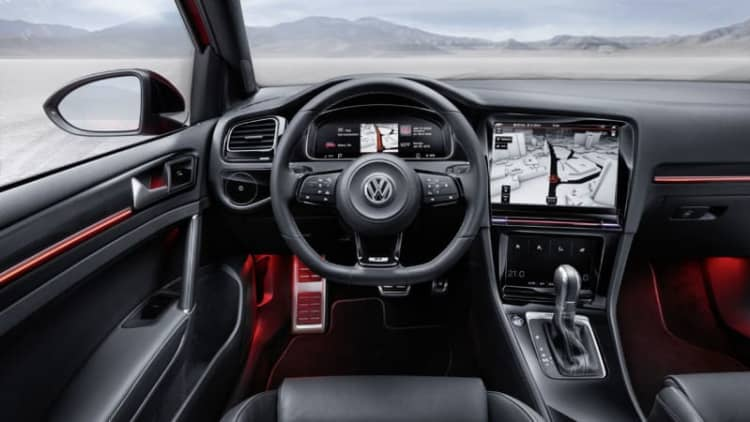 Volkswagen incorporating gesture control into updated Golf