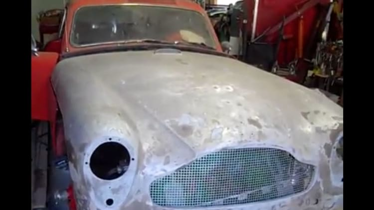 Rare 1958 Aston to be auctioned in Tennessee