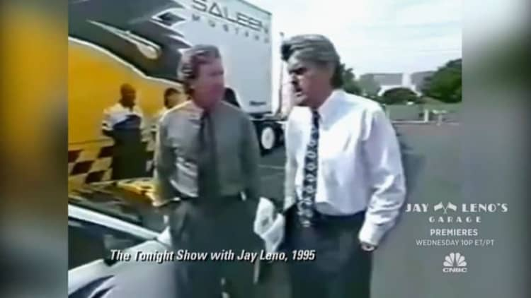 Leno recalls '90s showdown with Tim Allen and his mullet