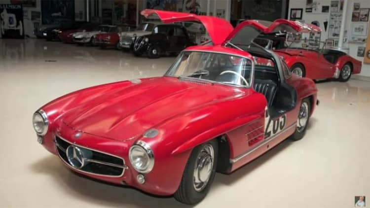 Jay Leno tells the story of his Mercedes Gullwing