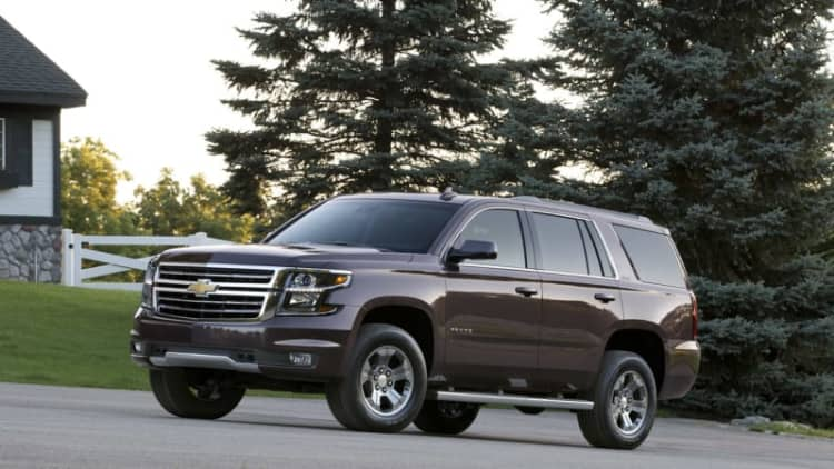 Fullsize GM SUVs have a problem that's making owners sick