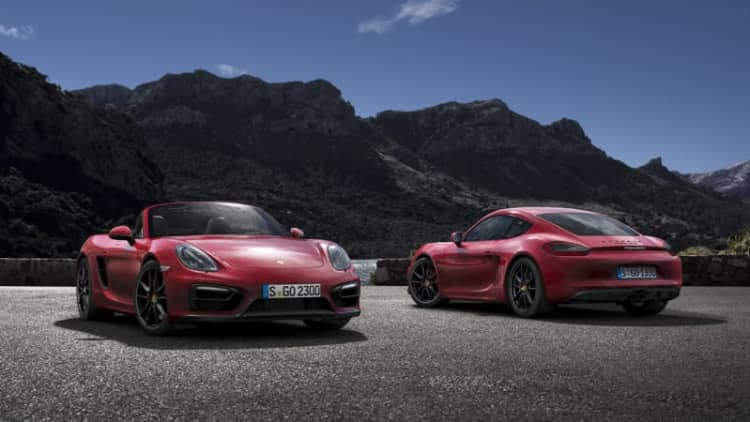 Porsche confirms four-cylinder Boxster, Cayman replacement for US