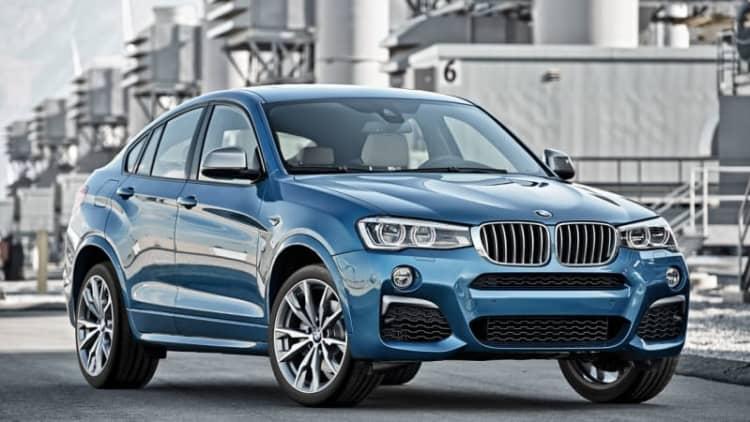 BMW reveals X4 M40i performance crossover