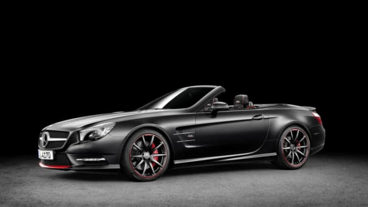Mercedes pays tribute to 1955 Mille Miglia with special-edition SL