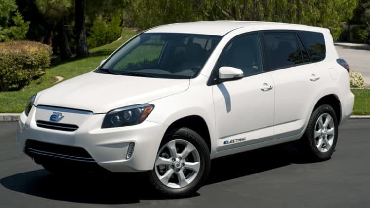 Toyota RAV4 EV recalled for Tesla motor assembly software problem