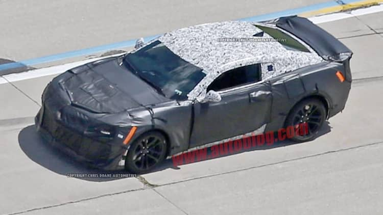 Next-gen Chevy Camaro ZL1 teases big changes under its camo