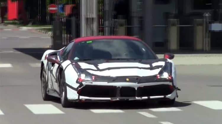 Listen to the Ferrari 488 GTB for the first time