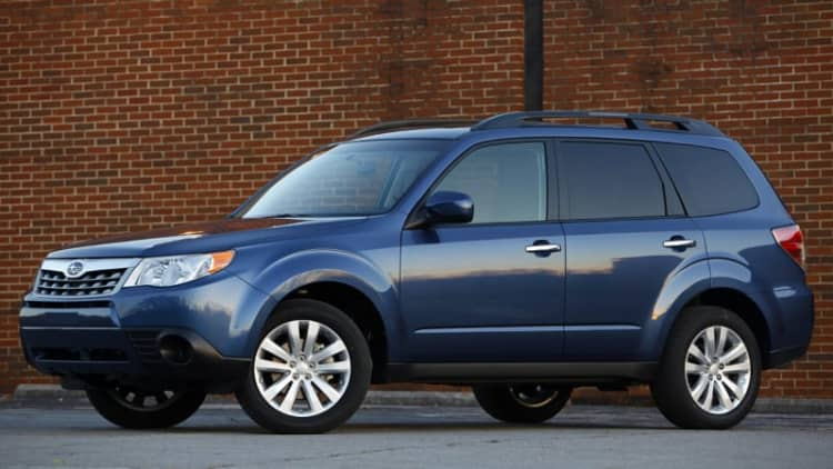 Subaru recalls 100K turbocharged models for fire risk