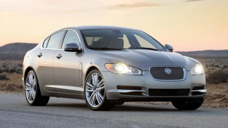 Jaguar Land Rover recalls Takata airbag-equipped cars