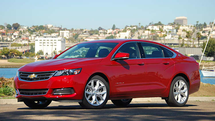 2014-15 Chevy Impala recalled over airbag fault