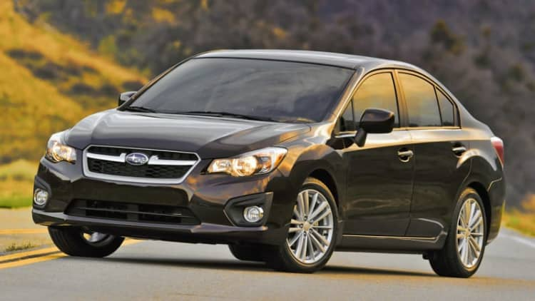 NHTSA investigating 33k Subaru Imprezas for airbag sensor flaw