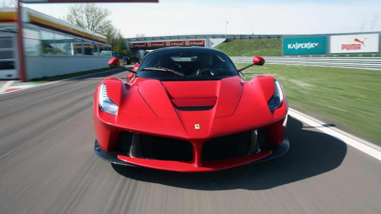 Sergio Marchionne confirms Ferrari LaFerrari Spider