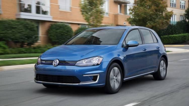 Volkswagen e-Golf recalled for battery software problem
