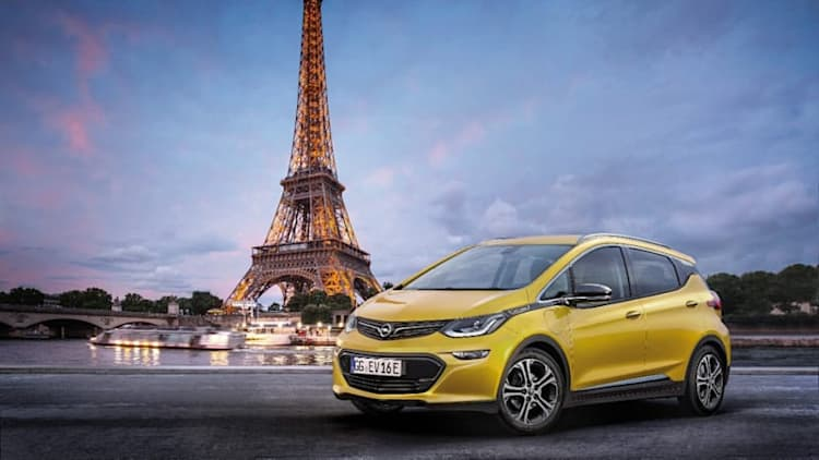 Opel's version of the Chevy Bolt will confuse people at Paris Motor Show