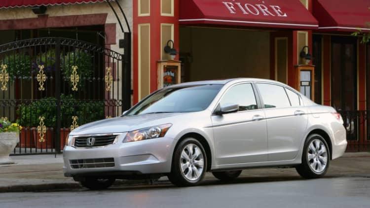 Honda Accord under investigation due to airbag failures