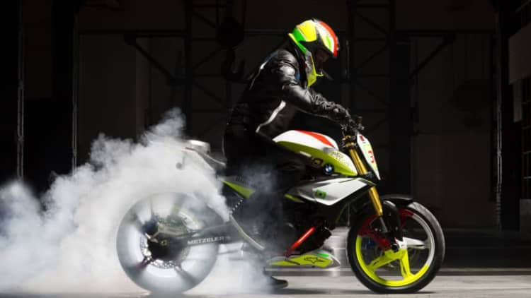 BMW Motorad reveals Concept Stunt G 310 in Brazil