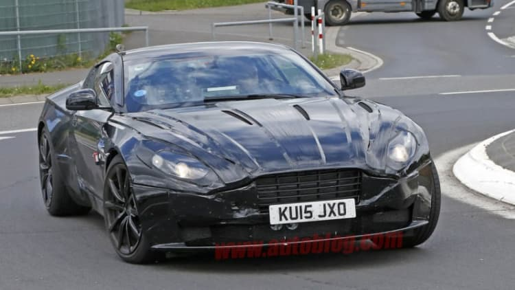 Aston Martin DB11 gets back to work at the Nurburgring