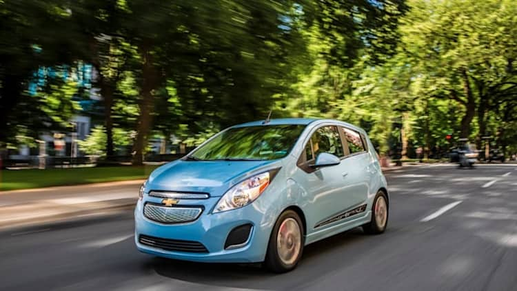 How two-state Chevy Spark EV outsold 50-state Volt last month