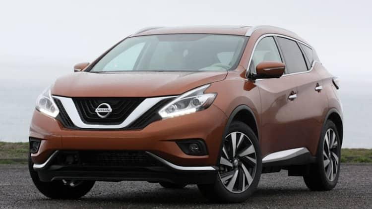 Nissan recalls 2015 Murano over ABS actuators