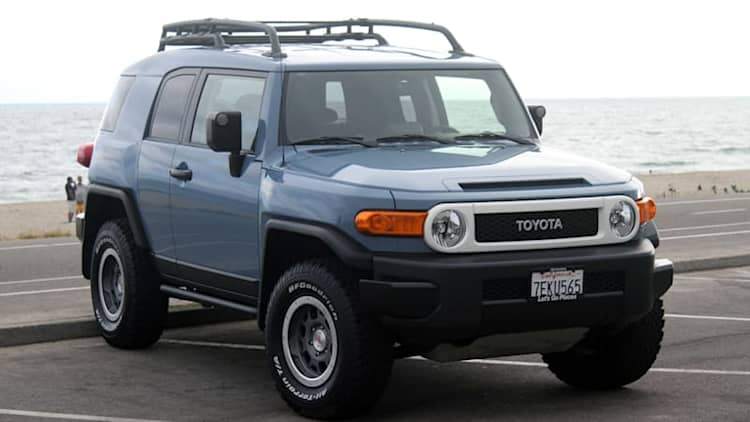 The Toyota FJ Cruiser has surprisingly good resale value