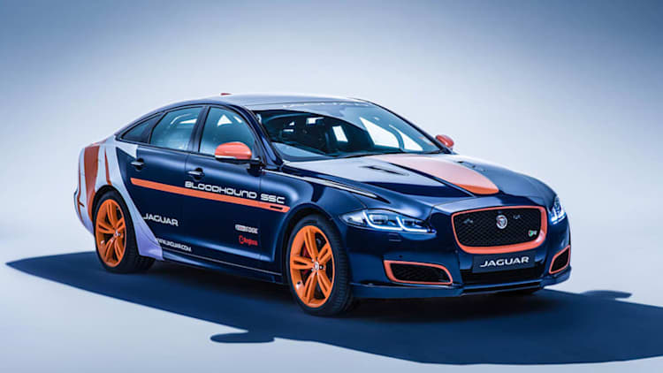 Watch Jaguar build its XJR Rapid Response Vehicle for Bloodhound SSC