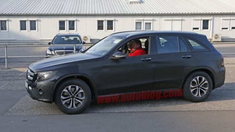 Mercedes spotted testing new GLC-Class