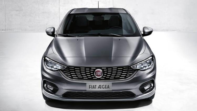 Fiat reveals new Aegea Project sedan in Istanbul