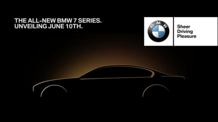 Reveal of next-gen BMW 7 Series set for June 10