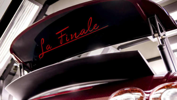 Bugatti has sold the last Veyron