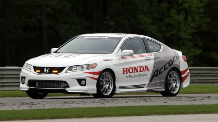 Honda Accord sets the pace as Indy safety car with HPD upgrades