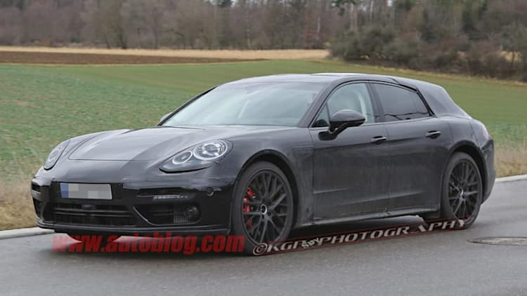 Porsche Panamera Sport Turismo returns in these spy shots