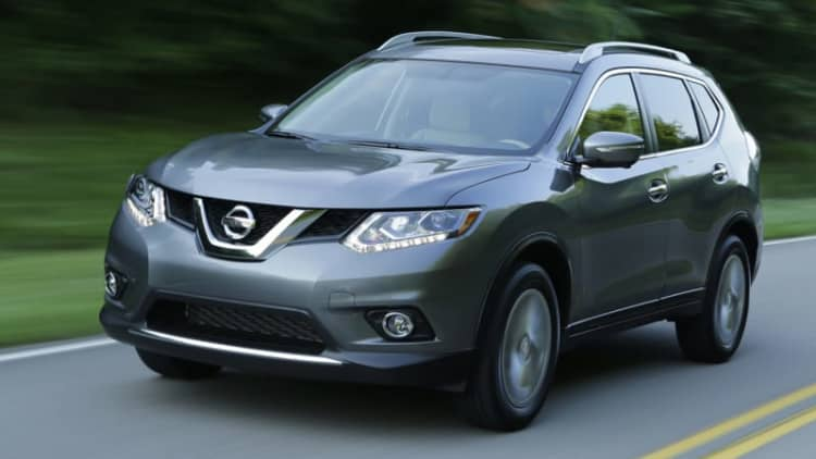 Nissan recalls 76k Rogues for faulty fuel pumps