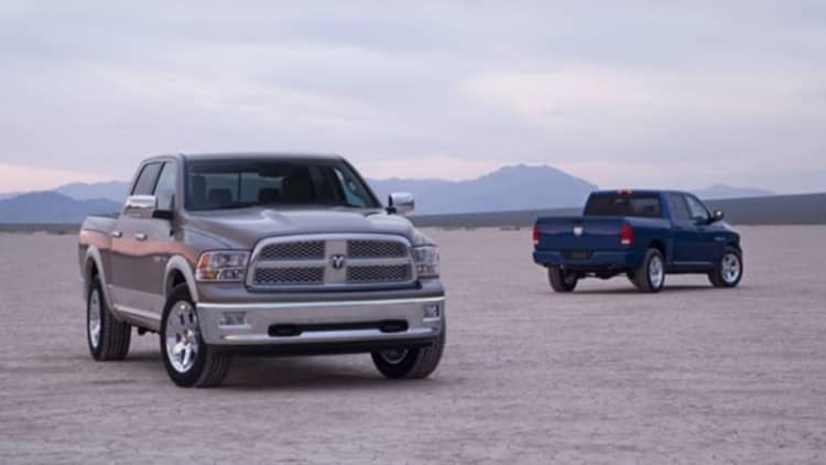 Ram recalling 65k trucks for rear-axle heat treating
