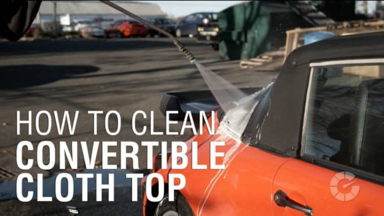 How to clean convertible cloth top | Autoblog Details