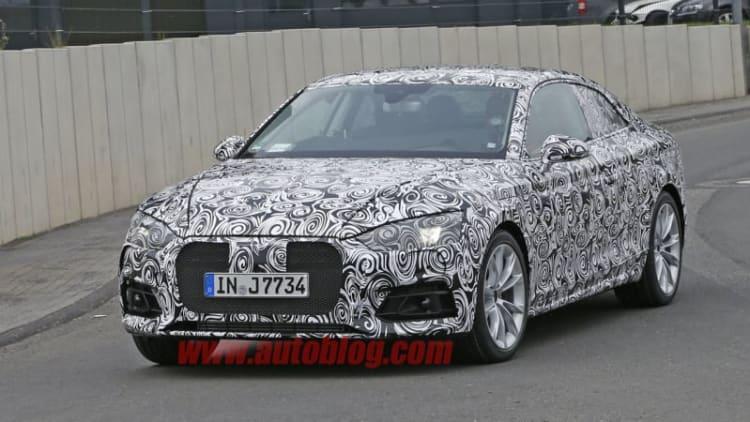Audi S5 spied