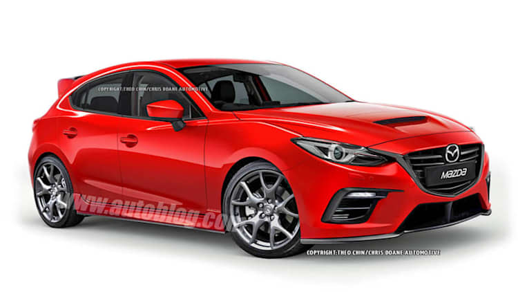 Mazdaspeed3 concept tipped for Frankfurt debut