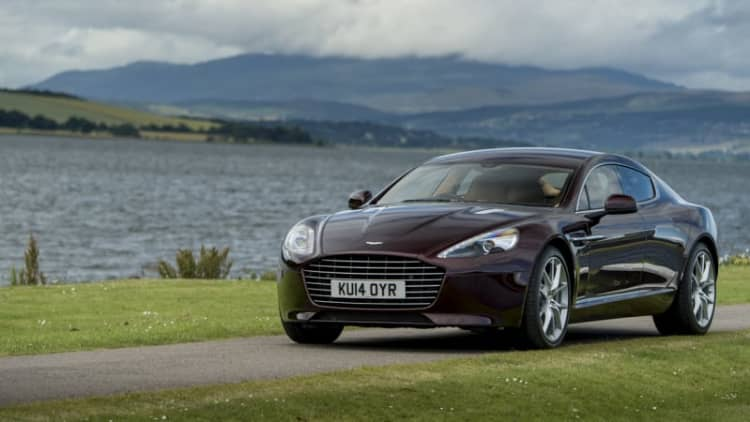 Aston plans Tesla-fighting 800-hp electric Rapide