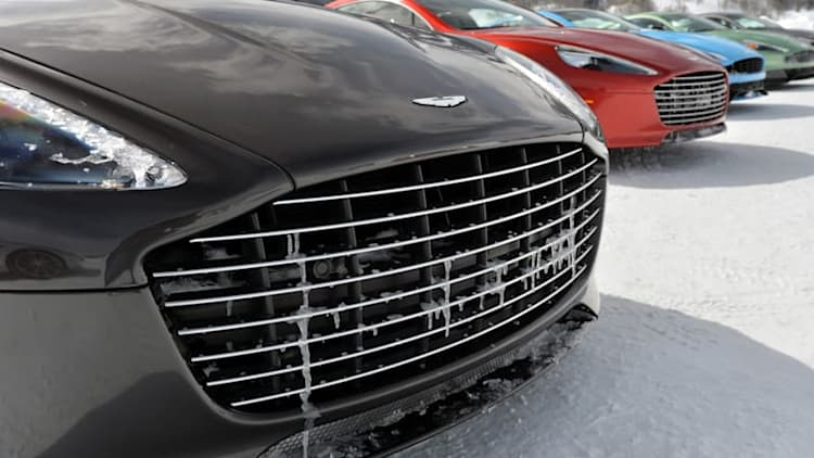 Aston Martin rules out going downmarket