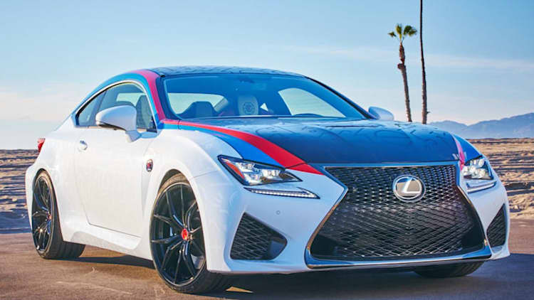 This one-off Lexus RC F takes a page out of an NBA playbook