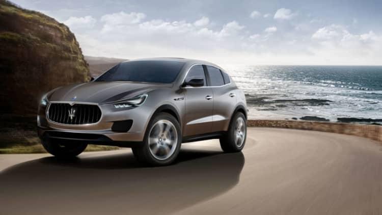 Maserati betting big on Levante SUV