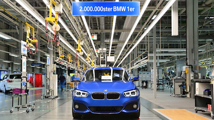 BMW builds its 2 millionth 1 Series on eve of new model's launch