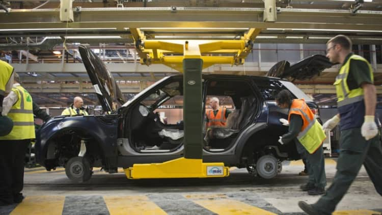 Jaguar Land Rover considering Mexican plant
