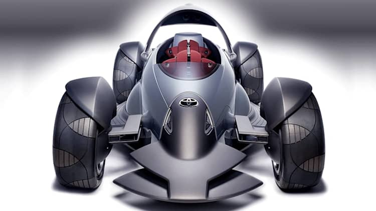 Toyota planning radical open-wheel sports car concept